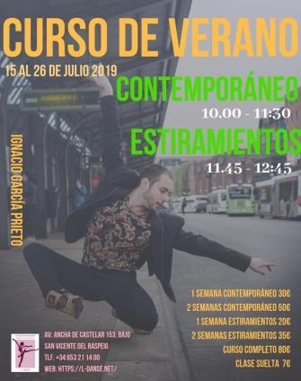 curso danza contemporanea ignacio
